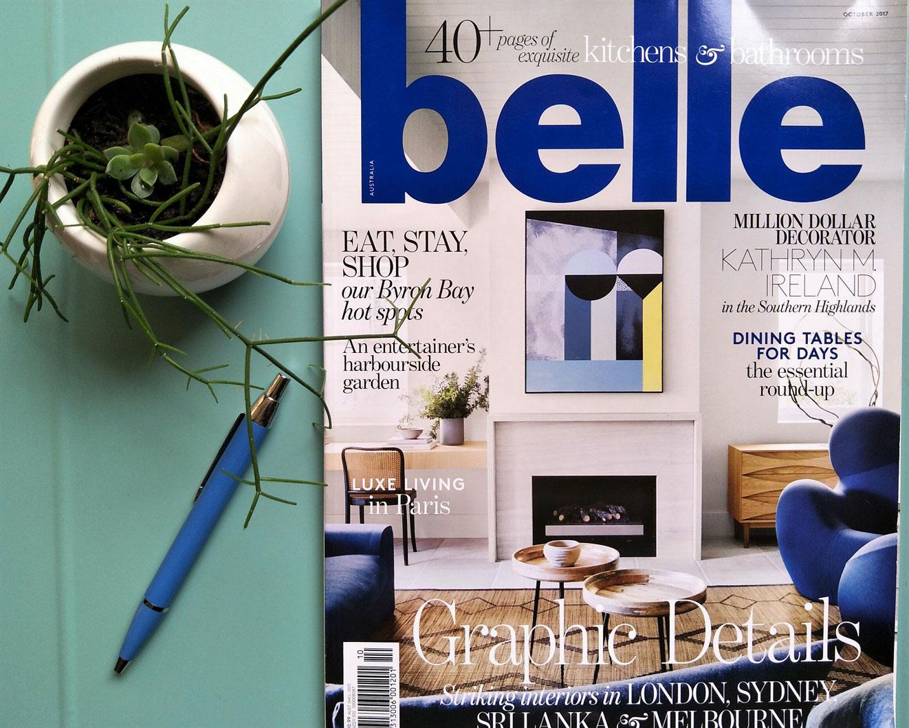 Belle Magazine S Dream Kitchen Challpac